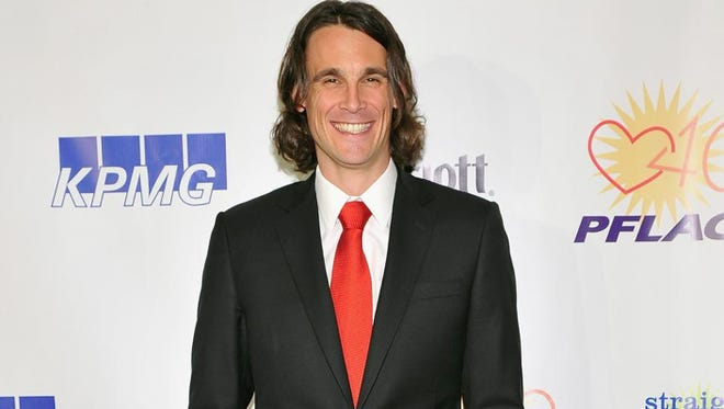 """Chris Kluwe says being recognized as a human rights advocate has been an """"interesting"""" development since he spoke out in support of marriage equality. He attends the 2013 PFLAG National Straight for Equality Awards in New York City."""