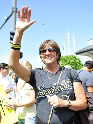 """Maggie Corbin, wife of Vanderbilt baseball coach Tim Corbin, says she made mistakes and sometimes struggled as a single mom. """"Life got much better when Tim Corbin entered the picture,"""" she says."""