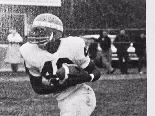 Middletown's Ed Jones was one of the heroes of the Lions' victory over Toms River in 1969, in a showdown between the top two teams in the state at the time.