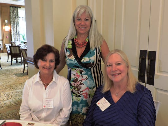 Lynn Flick, Debbie Milliner and Kay Gonzalez
