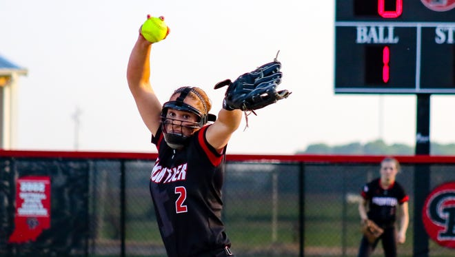Savanna Harrison's dominating no-hitter led Frontier past Central Catholic 12-0.