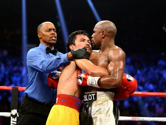 Boxing: Mayweather vs Pacquiao