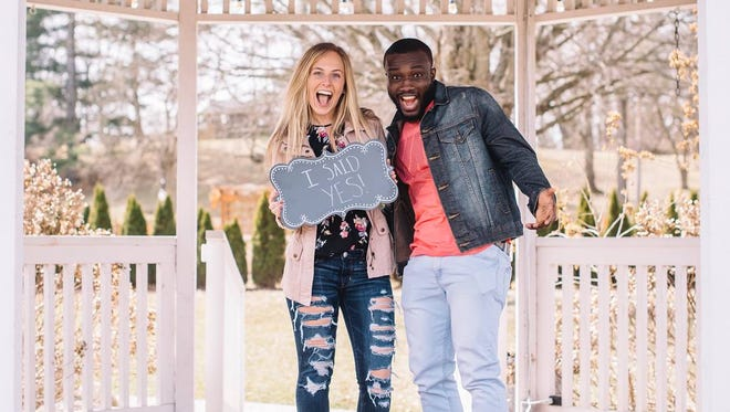 Joel Okafor, a 2015 Indiana All-Star graduate of Richmond High School, won an NAIA National championship with Indiana Wesleyan. Then, 3 days later, proposed to his girlfrielnd.