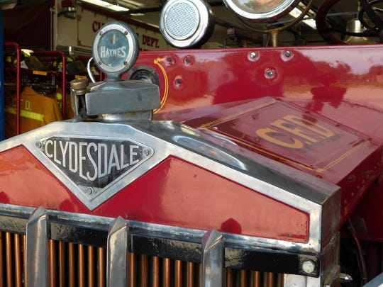 The Clyde Fire Department's 1920 Clydesdale Fire Engine is expected to participate in the June 18 NOVFA Parade with many more area fire engines and antique fire vehicles.