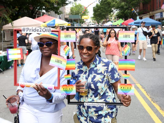 PRIDE DAY IN DOWNTOWN YONKERS
