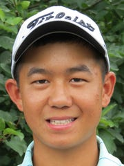Top-seeded Kelly Chinn of Virginia won his first-round match, 2 and 1, at the 71st U.S. Junior Amateur golf championship at Baltusrol Golf Club in Springfield, N.J., on Wednesday, July 18.