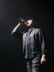 Marilyn Manson performing live, Tuesday, January 30th,