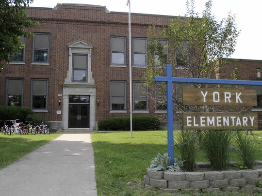 York Elementary is one of the schools slated to close under the new facility master plan.