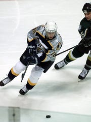 Ville Peltonen skates for the Nashville Predators in