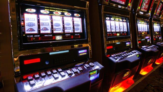 Gaming slots.