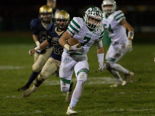Brick and Freehold, shown in the NJSIAA Central Group IV semifinals, will be in the Colonial division next season if the proposed Shore Conference realignment is approved.