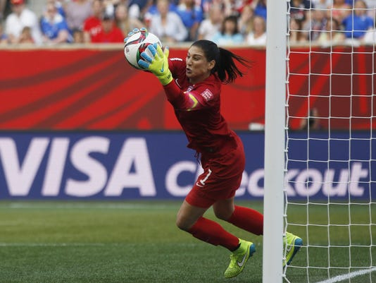 Soccer: Women's World Cup-United States at Australia