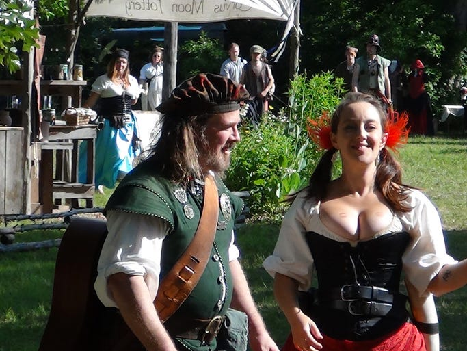 Scenes from the White Hart Renaissance Faire in Hartville.