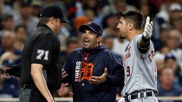 Tigers' Ausmus undeterred by rising heat: 'I'm not folding up shop'