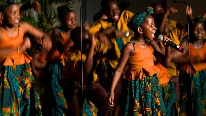 The African Children's Choir, which performed last year in Fort Pierce, will be doing concerts in Palm City and Vero Beach on Sunday.