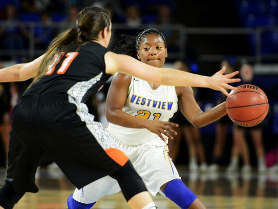 Westview's Tasia Jones returns for postseason push