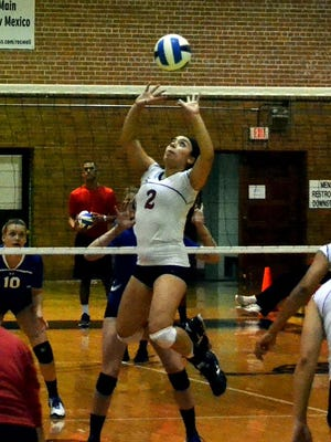 Former Americas volleyball player Gabriella Enriquez has signed a National Letter of Intent to play college volleyball at Division I, Delaware State.  She played junior college volleyball at  NMMI in Roswell, N.M., for the past two years.
