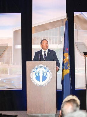 Westland Mayor William Wild at his 2017 State of the City address.