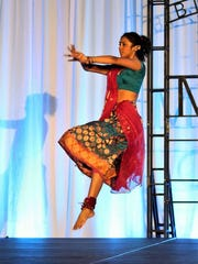 Gunda performs cultural dances from her Indian heritage.