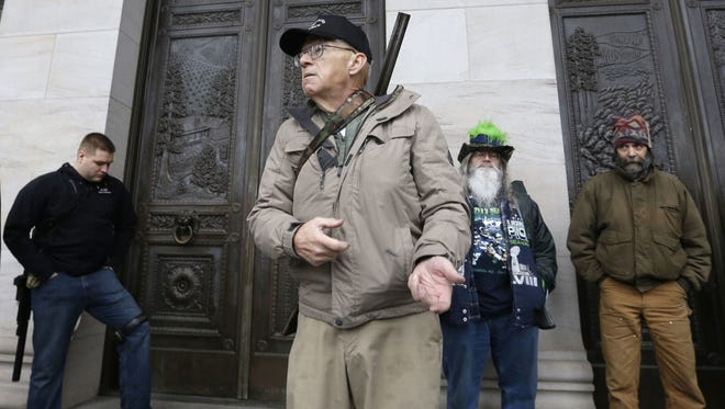 The Southern Poverty Law Center said in a news release that longtime-militia leader Michael Brian Vanderboegh died Wednesday.