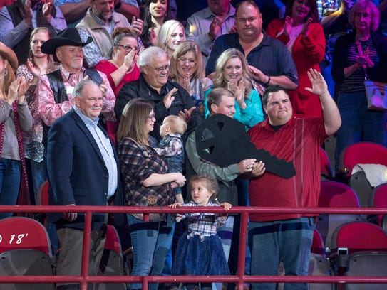 Ian Rook and his family were surprised Wednesday, Feb.