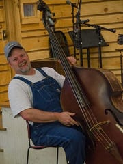 The Floyd Country Store's bass player.
