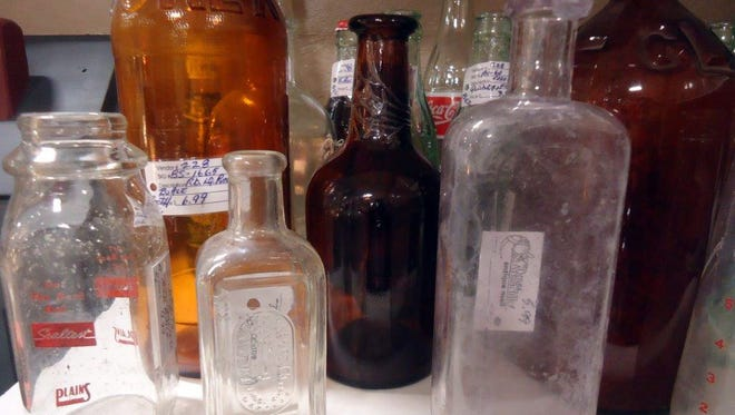 Bottles have been around since the days when all roads led to Rome, and collecting them is a popular hobby.
