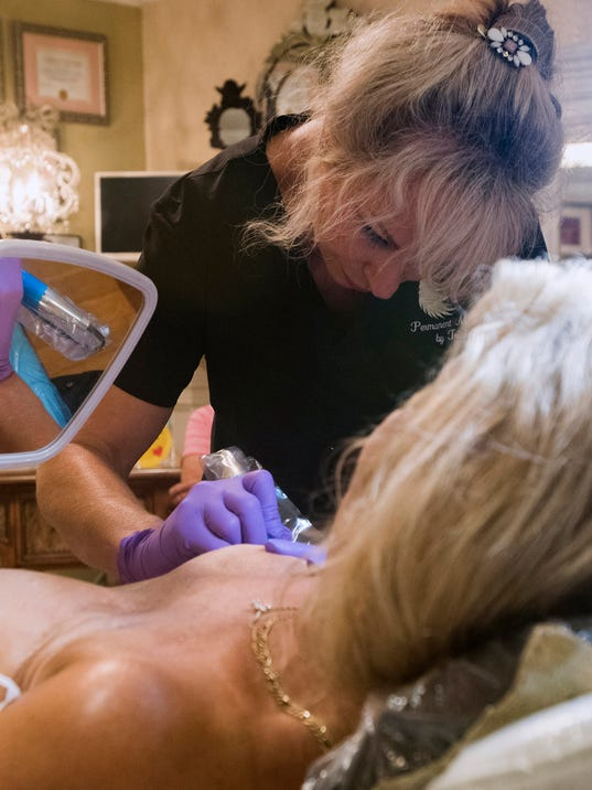 Breast Tattoos-Cancer Survivor
