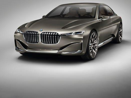 BMW's Future Luxury Sedan is unmistakable