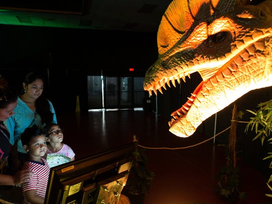 Discover the Dinosaurs Unleashed will be from 9 a.m.