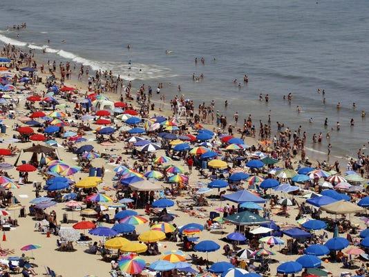Beach Umbrella Impaling