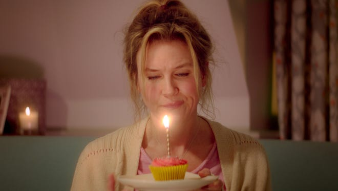 "Associated Press Renee Zellweger in a scene from ?Bridget Jones?s Baby.? This image released by Universal Pictures shows Renee Zellweger in a scene from ""Bridget Jones's Baby.""  (Universal Pictures via AP)"