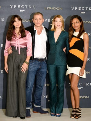 Lucky ladies and an even luckier spy guy.