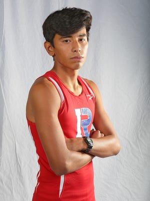 Indio cross country runner Luis Barrera.