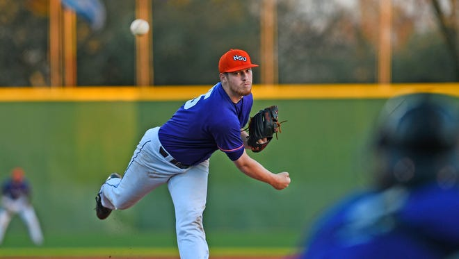 Adam Oller pitched Northwestern State to a win over UNO on Friday.