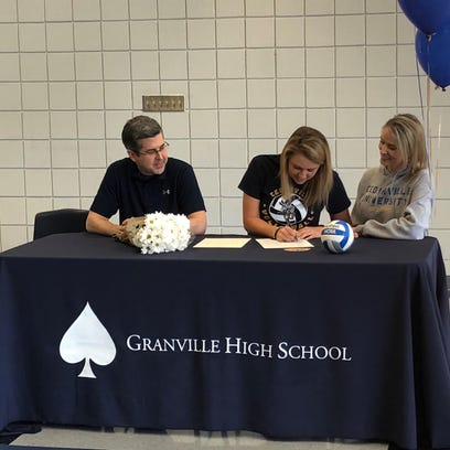 Granville's Harrison signs with Cedarville