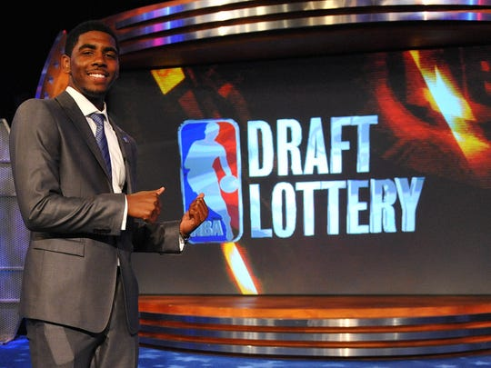 Kyrie Irving was the No. 1 pick in the 2011 NBA Draft.