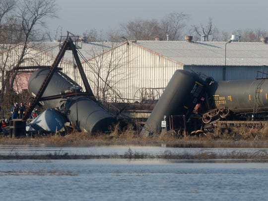 A judge dismissed the district's claims alleging media coverage of a freight train derailment in 2012 negatively impacted Paulsboro's reputation.