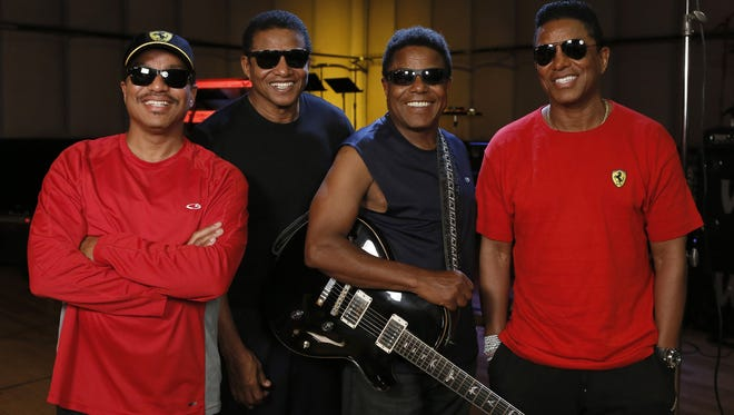 Marlon, Jackie, Tito and Jermaine Jackson will perform Sept. 17 at Westchester County Center.