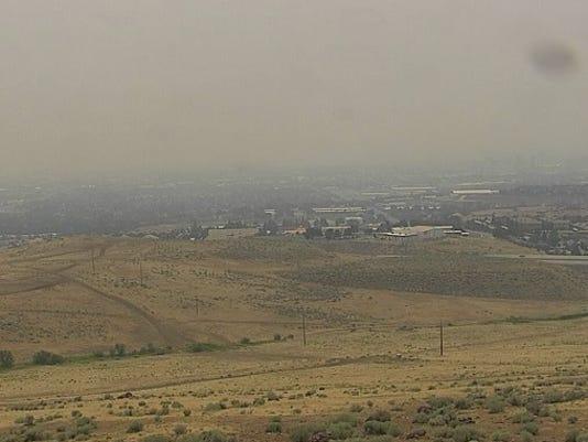 Reno smoky skies