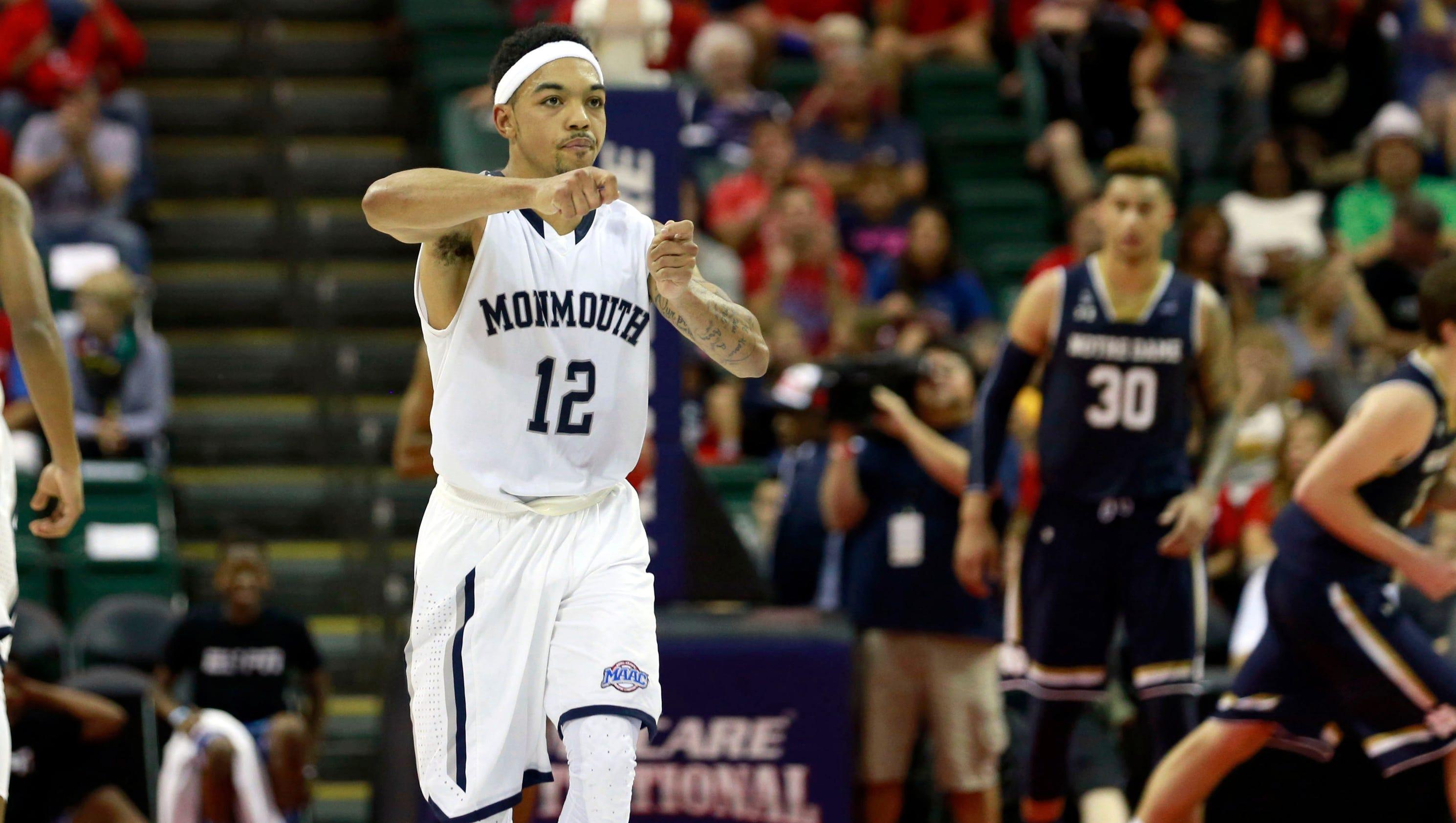Monmouth's 5-8 guard Justin Robinson makes big impression
