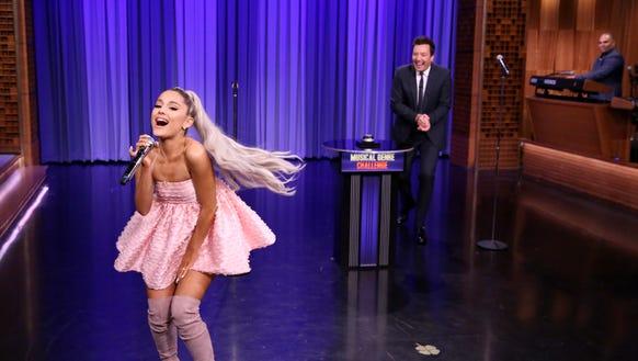 Ariana Grande goes goth on Kendrick Lamar's 'Humble.'
