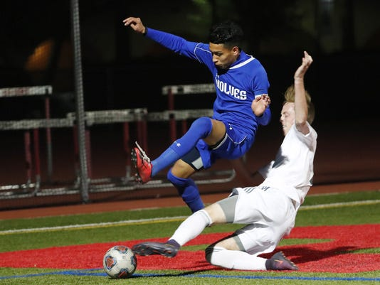Chandler vs Brophy soccer