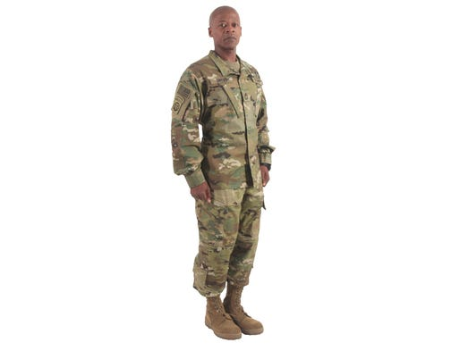The Army is calling its new camo the Operational Camouflage Pattern. The uniforms will be available for sale starting in the summer of 2015.