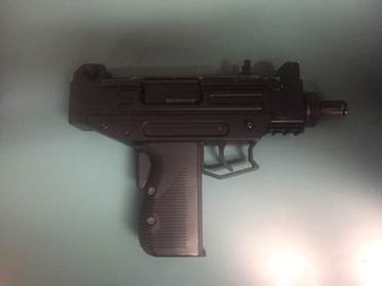 Barion Smith, 27, was arrested on March 17 after he was found to be in possession of a pistol.