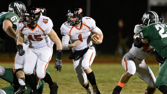 Hasbrouck Heights QB James Klenk and the Aviators will play Pompton Lakes in the North 1, Group 1 final.