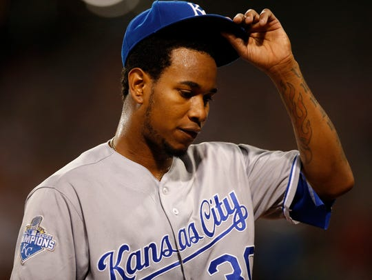 Yordano Ventura was 25 when he died in a car accident.