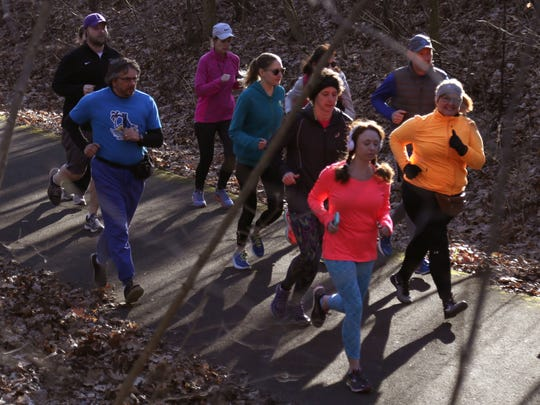 Runners, joggers and walkers enjoyed the weekly Park Run 5K starting at North Lake Park on the Richland B&O Trail on Saturday morning. The run is the first of its kind in the state of Ohio.