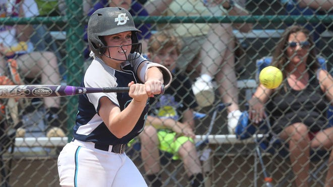 Siegel's Veronica Westfall (16) hits the 4th home of the game against Clarksville during Game 4 of the 2016 TSSAA Class AAA State Softball Tournament, on Wednesday, May 25 2016.
