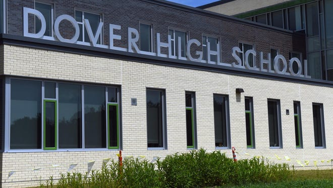 As many as 16 positions could face cuts at Dover High School if the city district has a tax-cap compliant budget, according to officials.